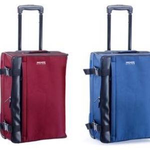 INNOVATIVE LIVING COLLAPSIBLE CARRY ON SUITCASE